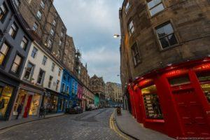Where JK Rowling Wrote Harry Potter in Edinburgh