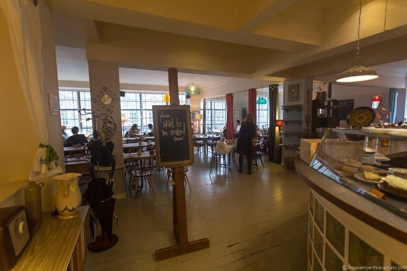 Spoon cafes where JK Rowling wrote Harry Potter in Edinburgh Scotland