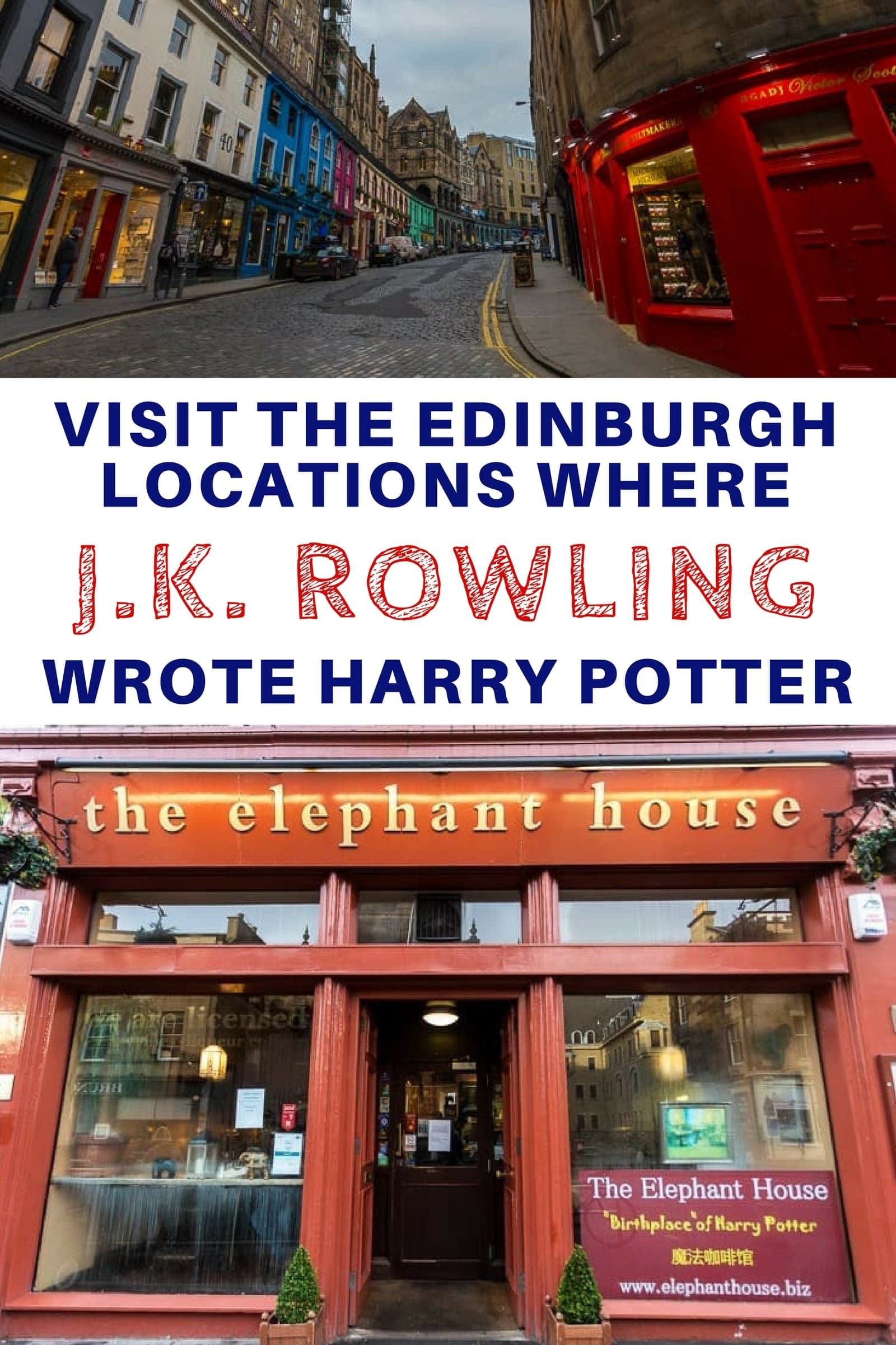 e243382d91c86e Visit the places where J.K. Rowling wrote the Harry Potter books in  Edinburgh Scotland. If