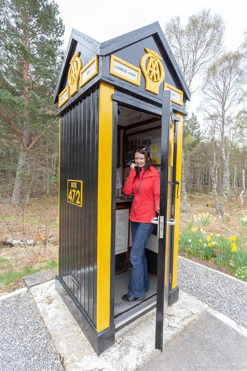 AA motoring box things to do in the Cairngorms National Park in winter