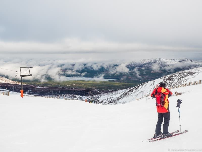 things to do in the Cairngorms National Park in winter