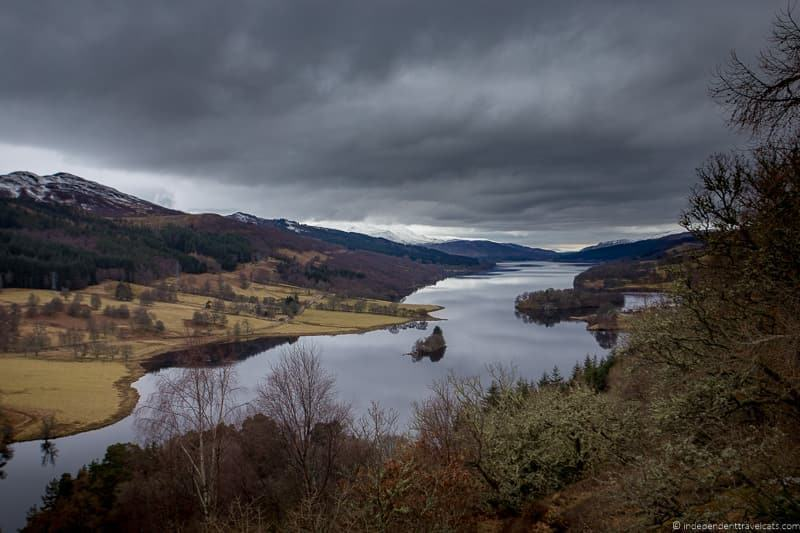 Queens View things to do in the Cairngorms National Park in winter