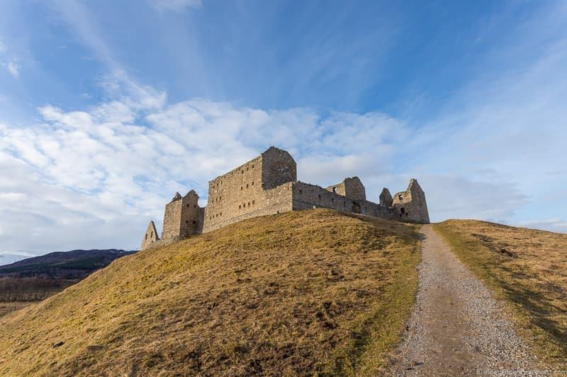 Ruthven Barracks things to do in the Cairngorms National Park in winter