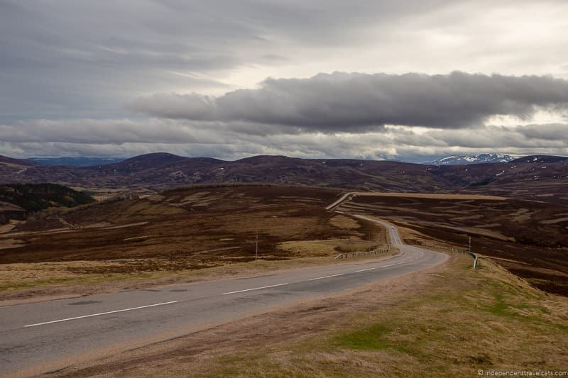 Snow Roads things to do in the Cairngorms National Park in winter