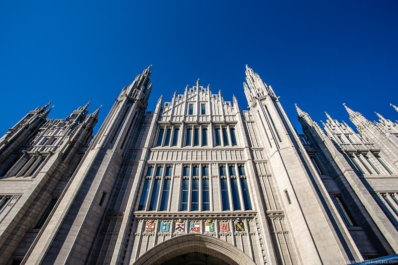 Marischal College things to do in Aberdeen Scotland travel guide