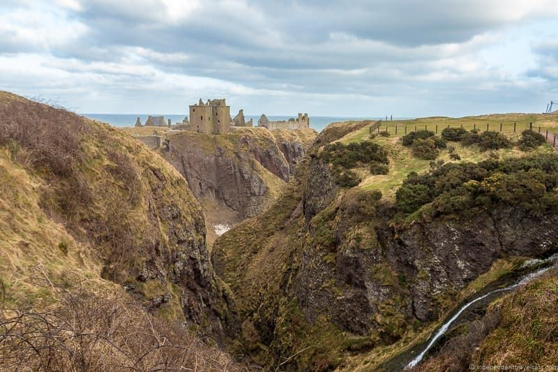 Dunnottar Castle things to do in Aberdeen Scotland travel guide