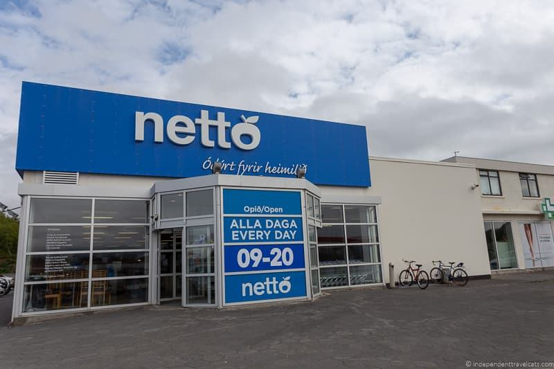 Netto Iceland on a Budget Iceland budget tips how to save money