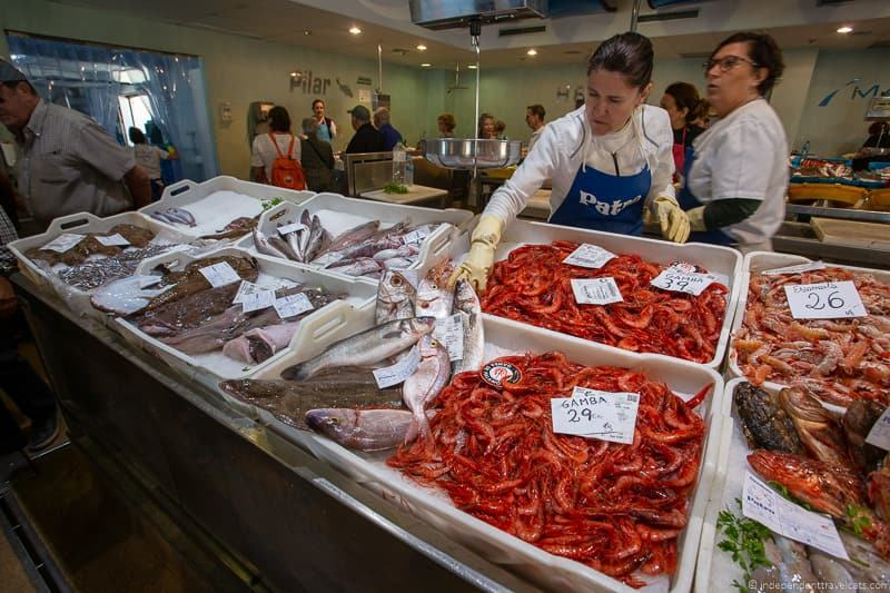 fish market things to do in Palamós Spain Catalonia Costa Brava