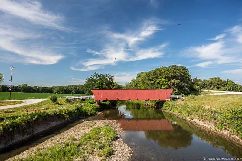 Hogback Bridge finding the covered bridges of Madison County Iowa