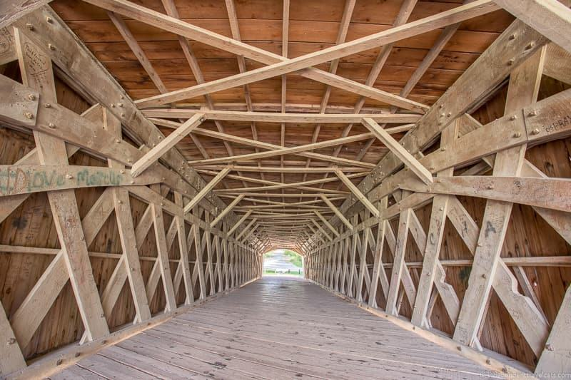 Holliwell Bridge visiting the covered bridges of Madison County Iowa