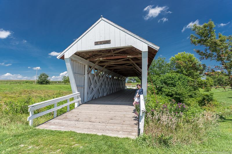 Imes Bridge finding the covered bridges of Madison County Iowa