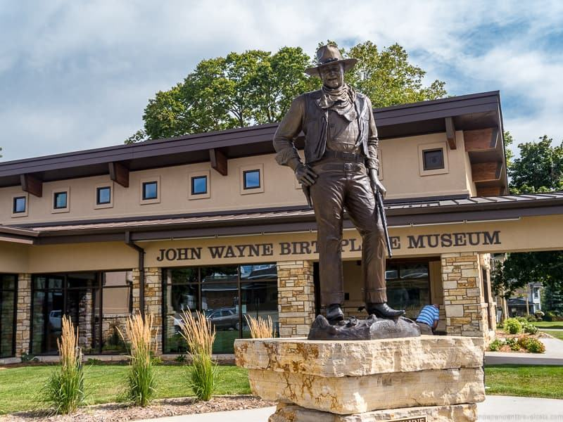 John Wayne Birthplace Museum bridges of Madison County Iowa