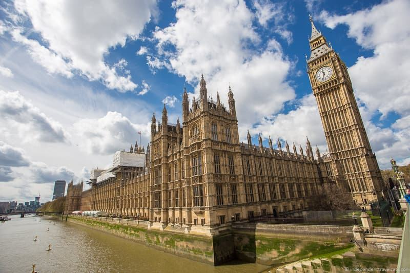 Palace of Westminster London walking tour highlights see London in 1 day