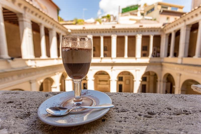 Chiostro del Bramante best coffee in Rome cafés Italy Italian coffee