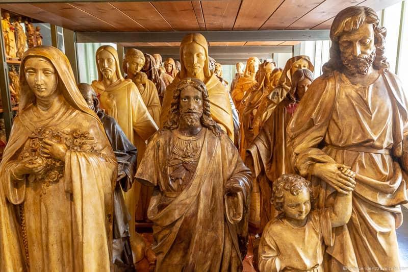 Museum of Saints Olot La Garrotxa Pyrenees Catalonia Spain