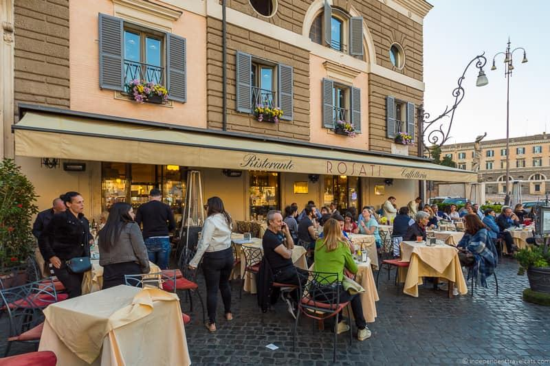 Rosati best coffee in Rome cafés Italy Italian coffee
