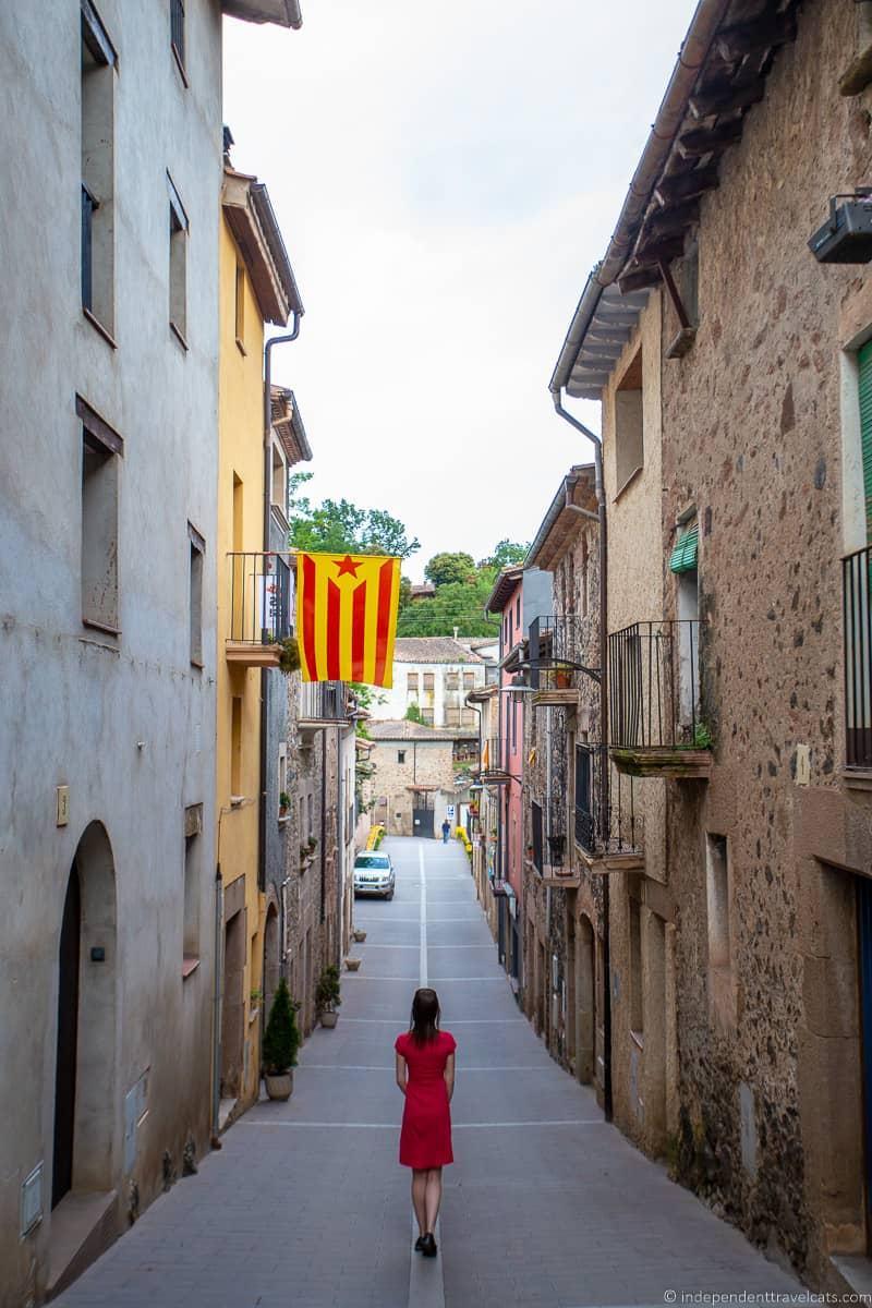 La Garrotxa Pyrenees Catalonia Spain