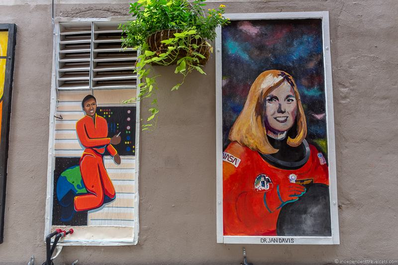 astronaut street art top things to do in Huntsville Alabama