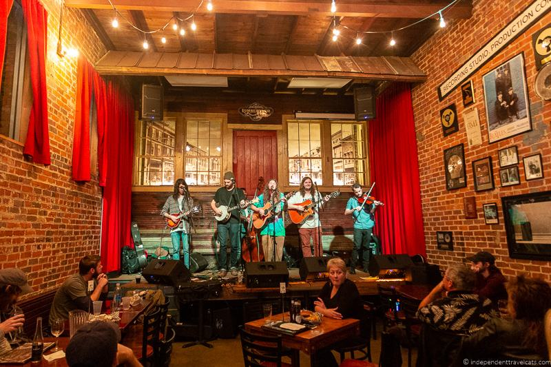 live music top things to do in Huntsville Alabama