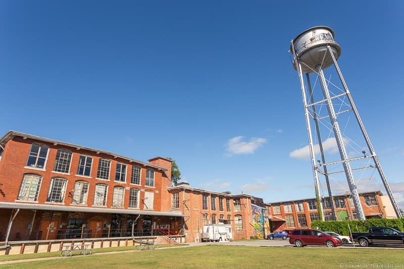Lowe Mill Arts & Entertainment top things to do in Huntsville Alabama