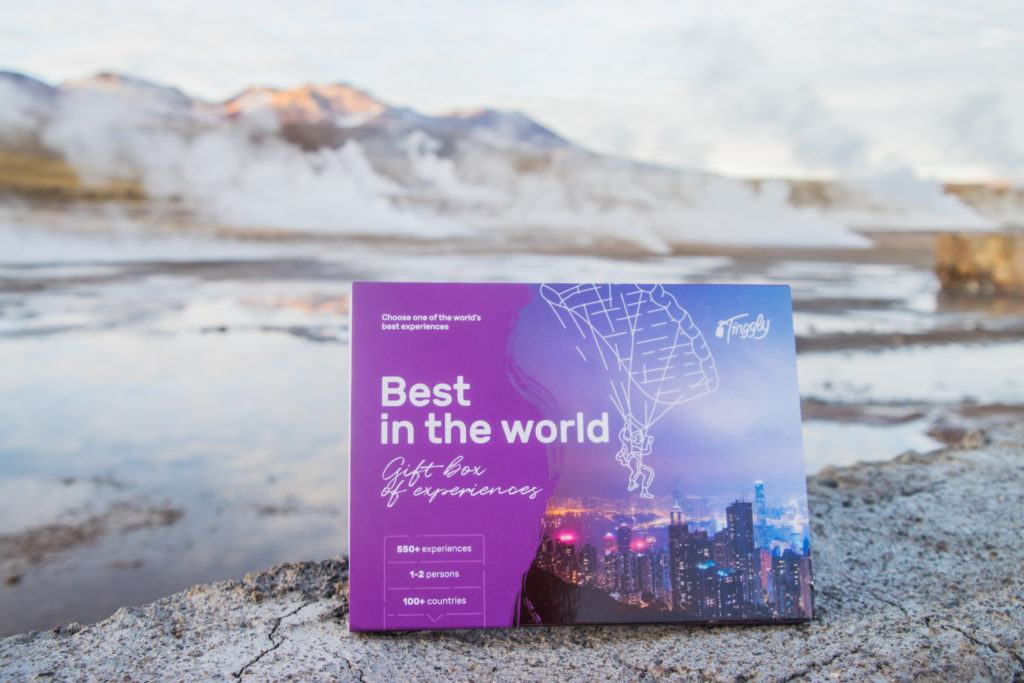 Tinggly Best of the World gift card
