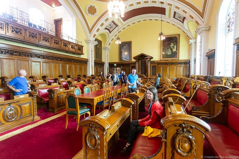 Belfast City Hall chamber things to do in Belfast Northern Ireland travel guide