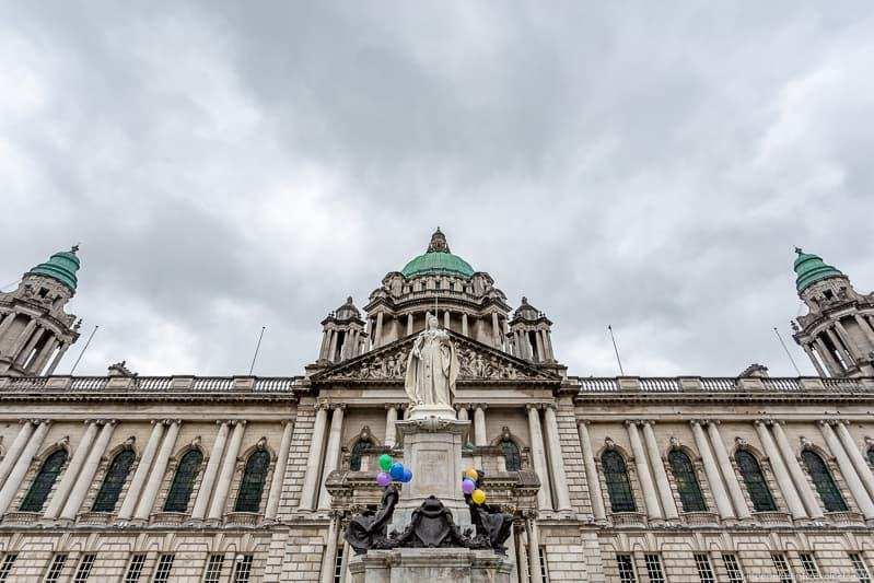 Belfast City Hall Donegall Square things to do in Belfast Northern Ireland travel guide