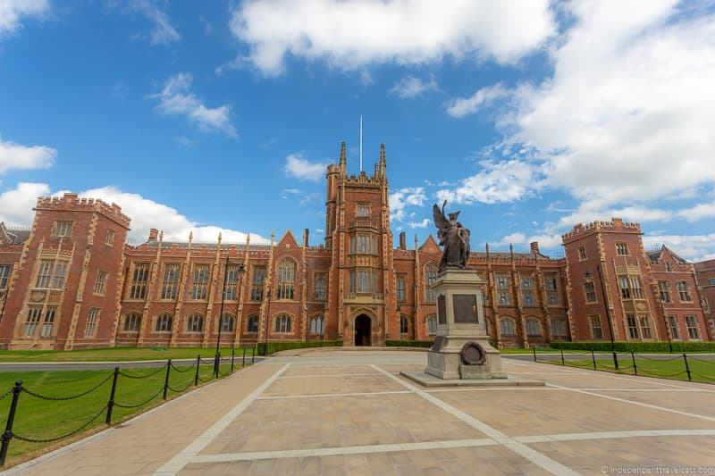 Lanyon Building Queen's University things to do in Belfast Northern Ireland travel guide
