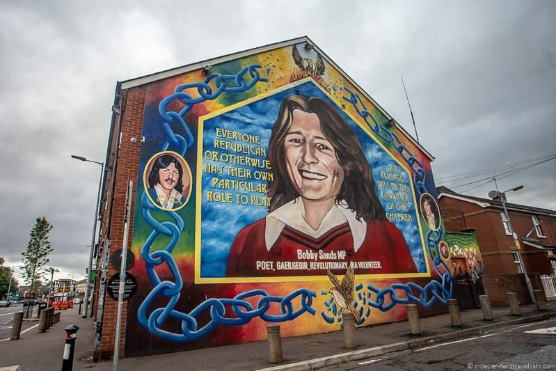 Bobby Sands mural street art things to do in Belfast Northern Ireland travel guide