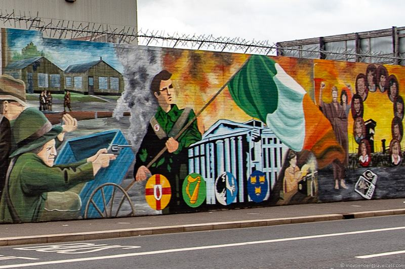 Irish Republican Belfast Street Art murals things to do in Belfast Northern Ireland travel guide