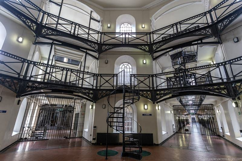 HMP Crumlin Road Goal prison things to do in Belfast Ireland travel guide