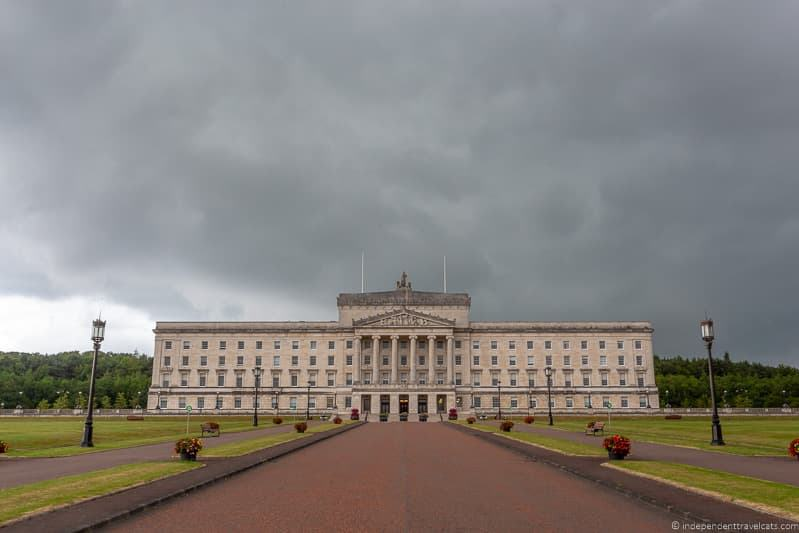 Stormont Parliament Northern Irish Assembly things to do in Belfast Northern Ireland travel guide