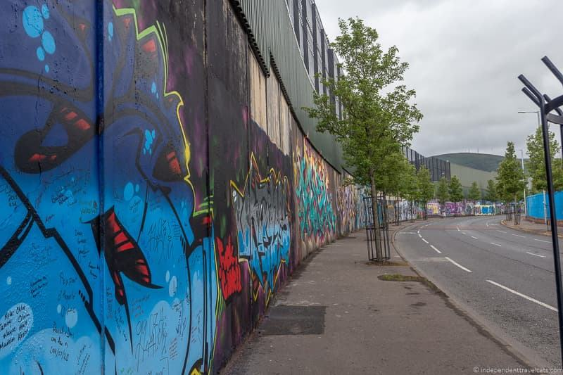 Peace Wall Peace Line street murals things to do in Belfast Northern Ireland travel guide