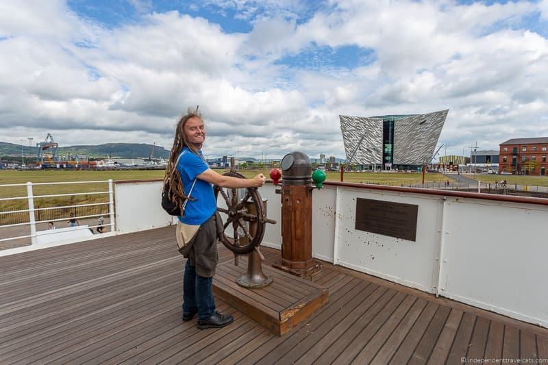 SS Nomadic Belfast Titanic Quarter things to do in Belfast Northern Ireland travel guide