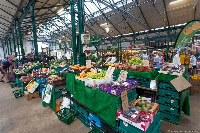 St. Georges Market covered market things to do in Belfast Northern Ireland travel guide