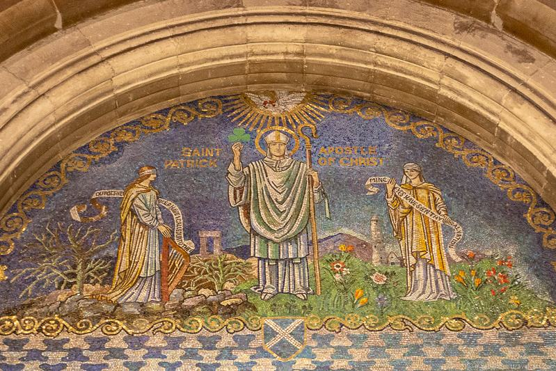 Saint Patrick mosaic things to do in Belfast Northern Ireland travel guide