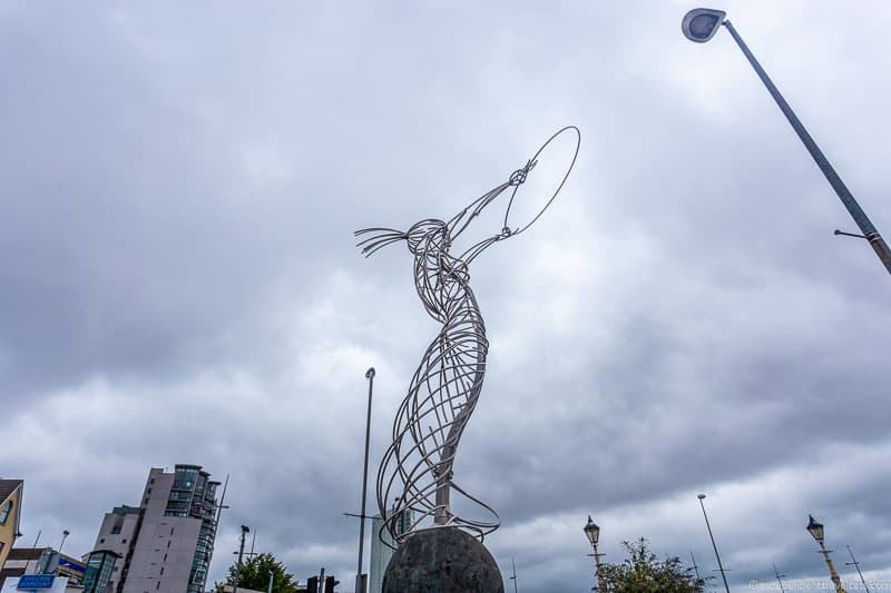 The Beacon of Hope Thanksgiving Square Beacon things to do in Belfast Northern Ireland travel guide
