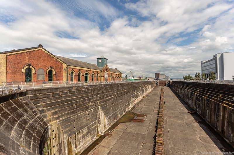 Titanic Dock & Pump House Thompson Graving Dock things to do in Belfast Northern Ireland travel guide