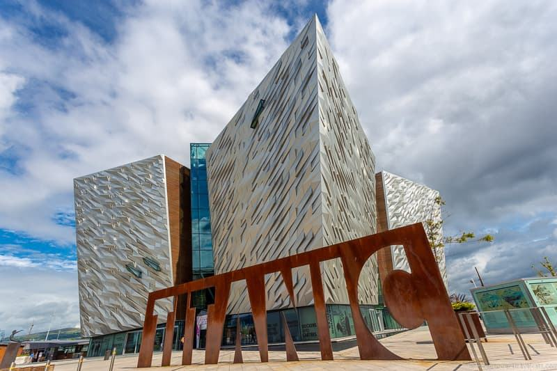 Titanic Belfast RMS Titanic Museum things to do in Belfast Northern Ireland travel guide