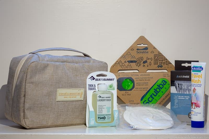 Travel Laundry kit giveaway