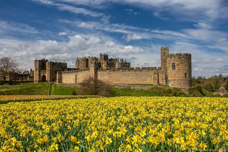 Alnwick Castle England day trips from Edinburgh day trips Edinburgh day tours Scotland