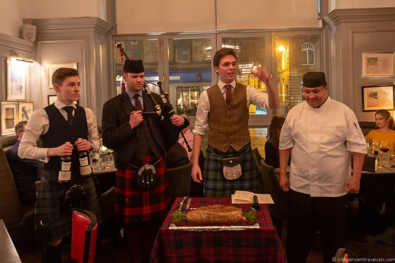 Glasgow Burns Supper where to celebrate Burns Night in Scotland