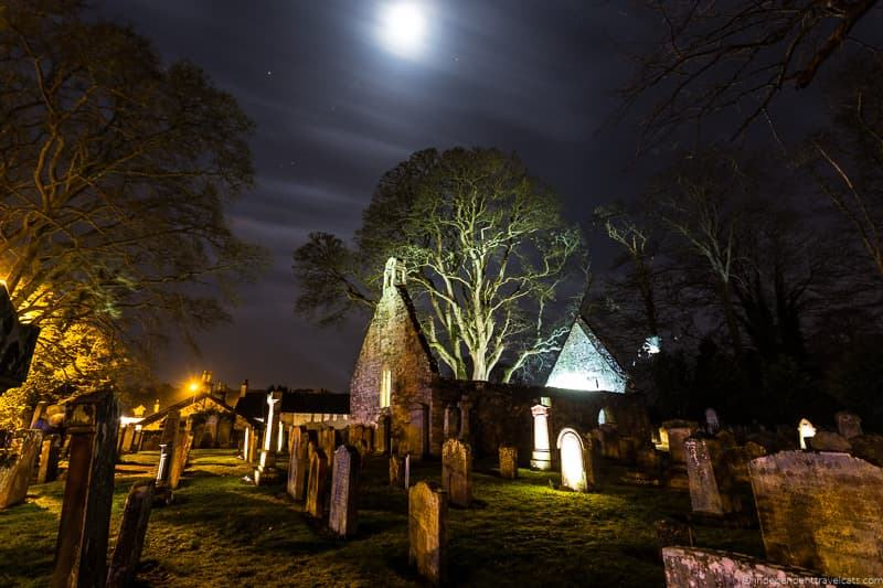 Alloway Auld Kirk Burns Supper where to celebrate Burns Night in Scotland