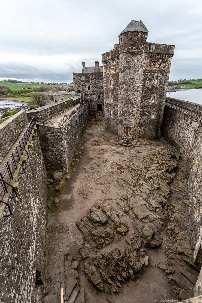 Blackness Castle Outlander day trips from Edinburgh day trips Edinburgh day tours Scotland