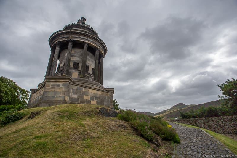 Burns Monument Edinburgh Robert Burns Supper where to celebrate Burns Night in Scotland