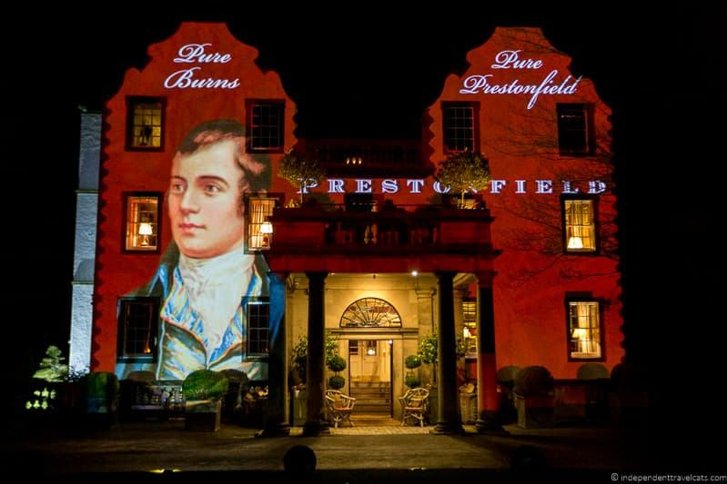 Prestonfield House Robert Burns Supper where to celebrate Burns Night in Scotland