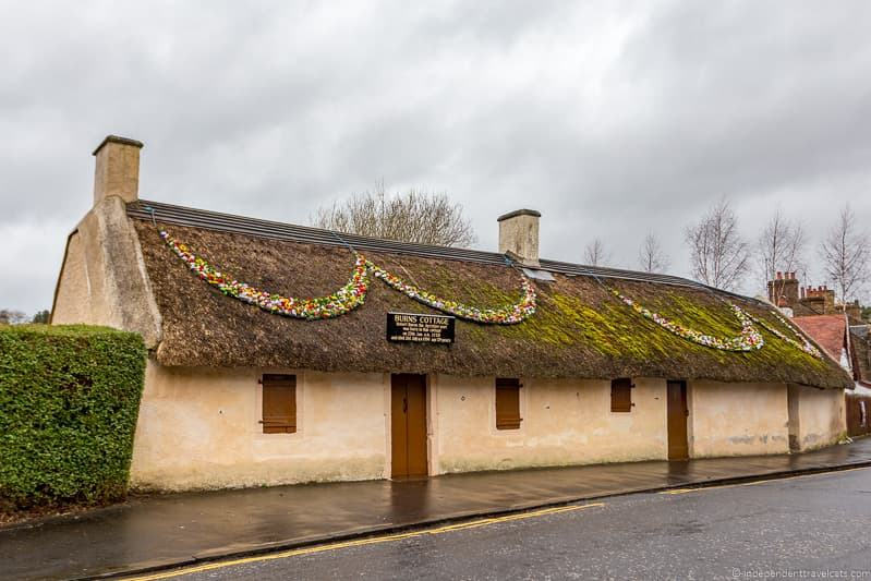 Burns Cottage Robert Burns Birthplace Museum Burns Supper where to celebrate Burns Night in Scotland