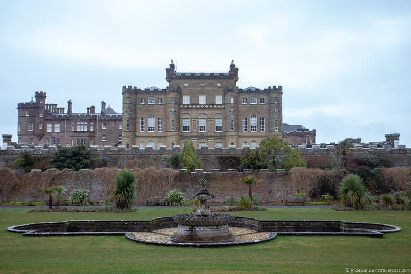 Culzean Castle Ayrshire where to celebrate Burns Night in Scotland