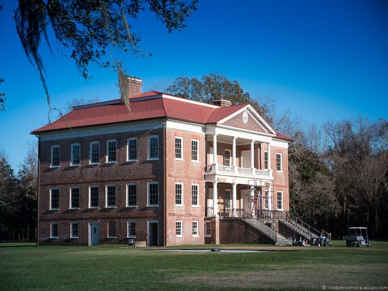 Drayton Hall house Charleston plantations guide South Carolina plantation tours