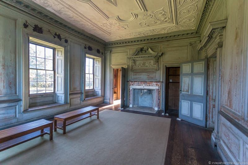 Drayton Hall house interior Charleston plantations guide South Carolina plantation tours